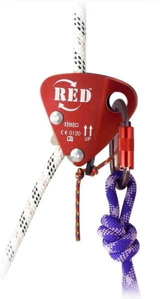 "ISC The RED 7/16"" Back-Up w/ Popper Tow Cord - ANSI 2 Person Rated"