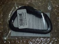 SMC Twist Lock Black Carabiner