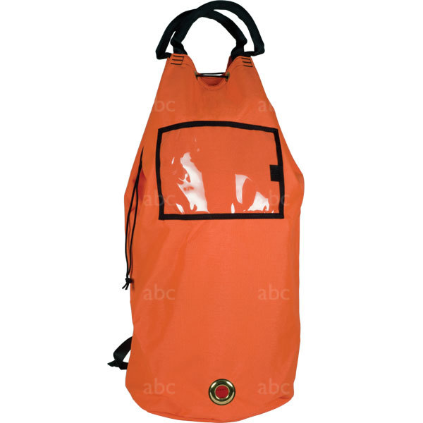 Rope Bag - Triple Crown - Orange - Pack with Straps - Large